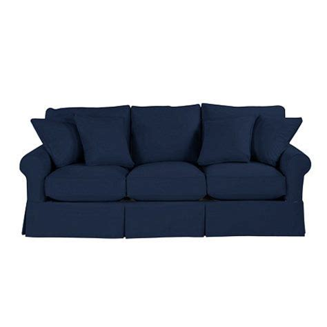 navy sofa slipcover navy sofa mi casa es mi casa pinterest
