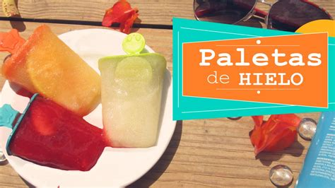 como hacer paletas de naranja con bombn youtube paletas de hielo con fruta caseras 161 f 193 cil cookingpaper
