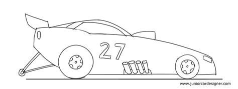 kid race car drawing draw a racing car car junior car designer