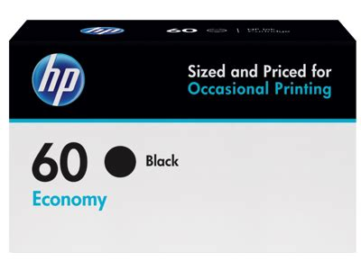 Cartridge Hp Black Ink 60 100 Original hp 60 economy yield black ink cartridge b3b05an by office