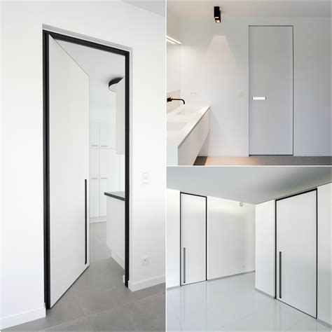 interior door pivot hinges modern interior doors with fully concealed pivot hinges