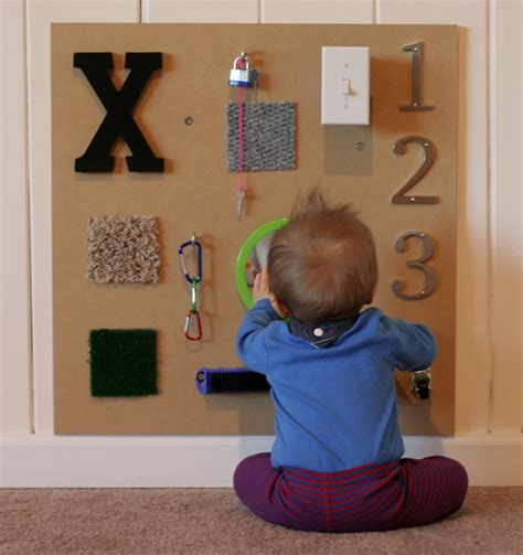 diy sensory boards project nursery