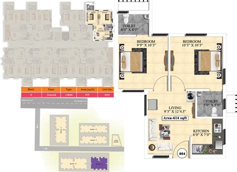 ideal homes floor plans 614 sq ft 2 bhk 2t apartment for sale in vijay raja ideal