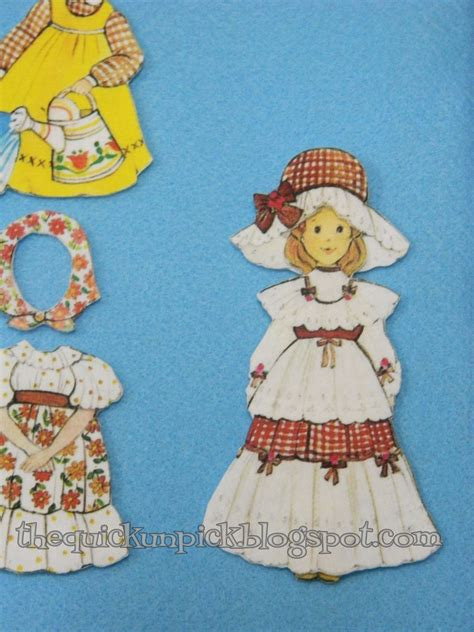 How To Make Fabric Paper Dolls - the unpick tutorial turn your vintage paper dolls