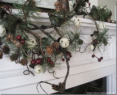 How To Hang A Garland On Fireplace by