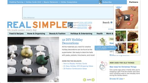 real simple website updates the chopping block inc
