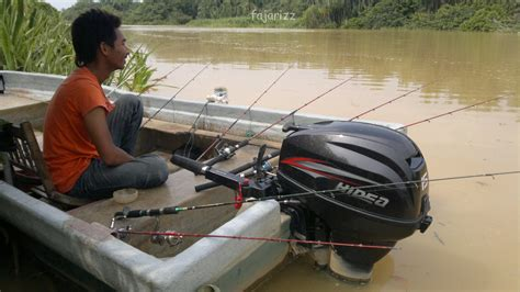 Pancing Sungai medium berkongsi informasi trip pancing udang galah sg kerian