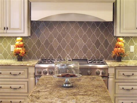 Plants In Vases New Ravenna Djinn Limestone Backsplash Traditional
