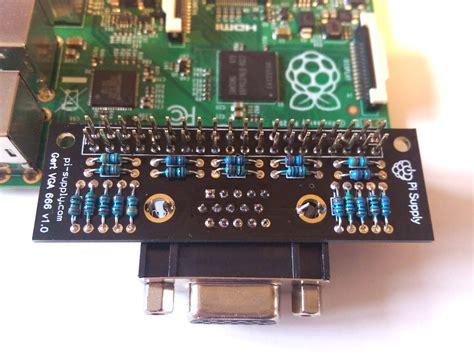 Jual Adaptor Raspberry Pi vga 666 gpio adapter 03 raspberry pi