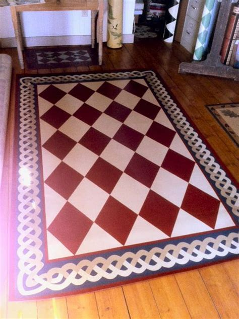 oilcloth rugs 43 best images about cloth rugs on painted rug mariners compass and canvases