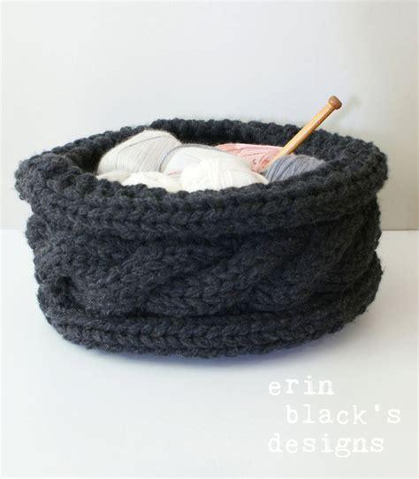 knit basket pattern 17 best ideas about knit basket on knitting