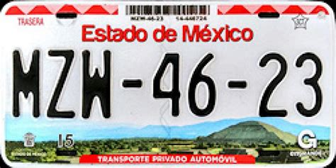 placas del estado de mexico placas estado de mexico estas son las placas de autos m