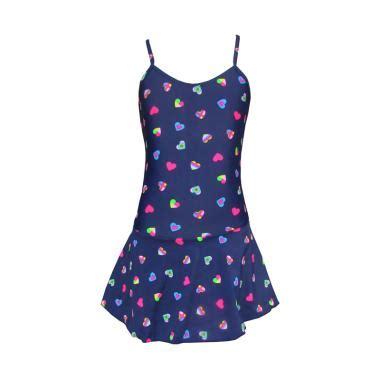 Baju Renang Wanita Rok Motif Ul014 jual rainy collections motif hati rok baju renang