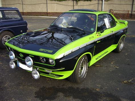 Opel Manta Gte by Opel Manta A Gt E Mit Zastrowumbau 1974 1975 Und