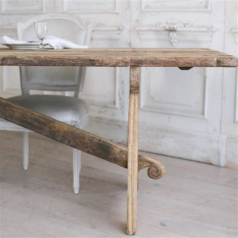 Dining Table Country Style Eloquence Country Style Antique Dining Table 1800 Kathy Kuo Home