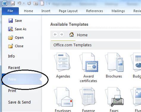 microsoft resume template word
