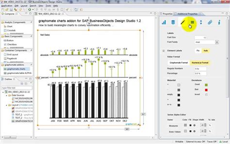 layout designer sap business one graphomate charts 2 0 for sap businessobjects design