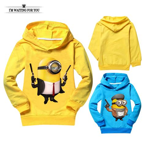 Sweater Minion 07 buy wholesale hoodie minion from china hoodie minion wholesalers aliexpress
