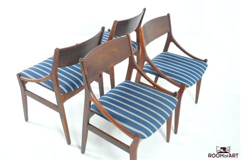 set of 4 dining chairs by h vestervig eriksen room of