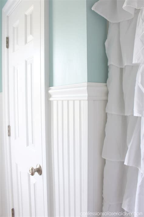 Wainscoting Install by How To Install Wainscoting Confessions Of A Serial Do It