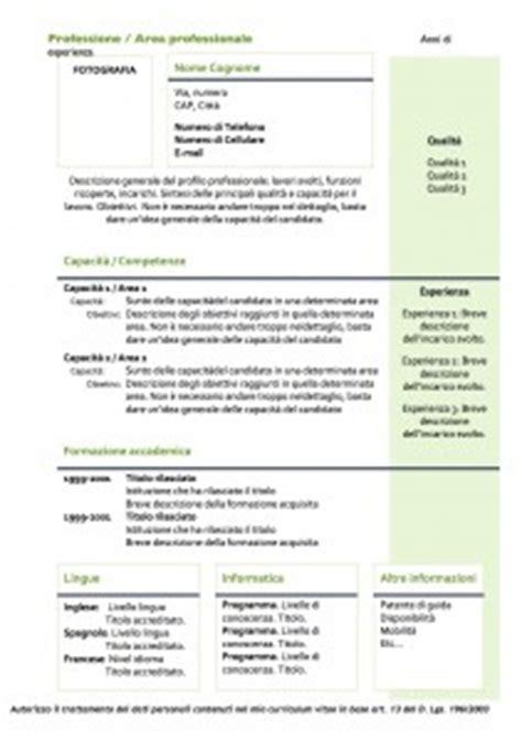 curriculum vitae modello 01 modello curriculum curriculum vitae modello 01 modello curriculum