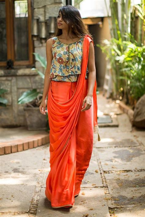 Vala Drape Dress Pink kalamkari blouse kalamkari work designer fashion