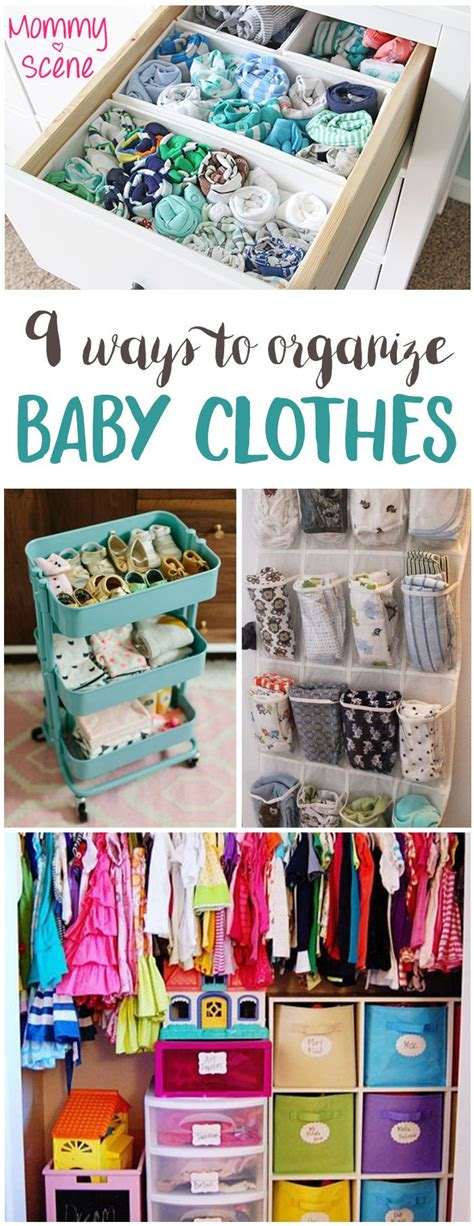 creative ways to store clothes 9 ways to organize baby clothes baby clothes storage