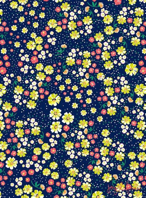 pattern flower problem wild floral ditsy in navy pattern play pinterest new