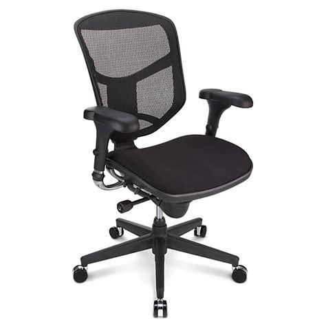Quantum Chair by Realspace Pro Quantum 9000 Ergonomic Mid Back Mesh Fabric Chair Black 130313 Chairs