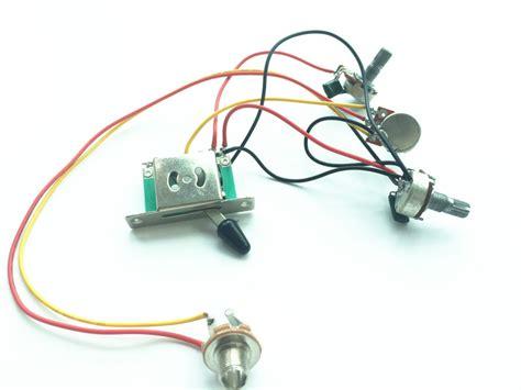 electric guitar wiring harness solderless guitar wiring