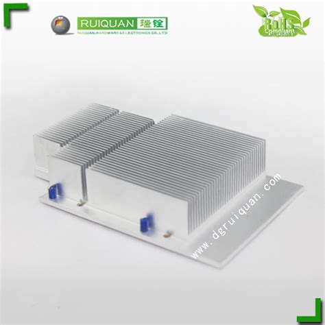 thermoelectric heat sink cold forged aluminium heat sink for thermoelectric cooler
