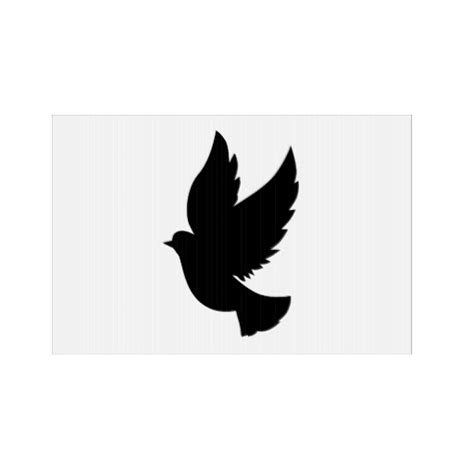 dove silhouettes clipart best