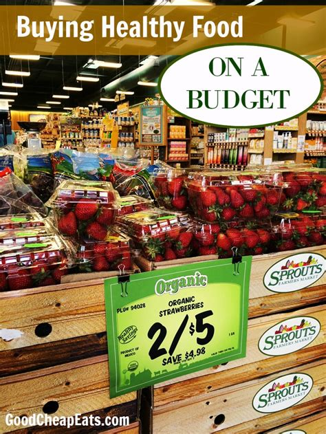 10 Ideas To Do A Food Budget by Buying Healthy Food On A Budget Cheap Eats