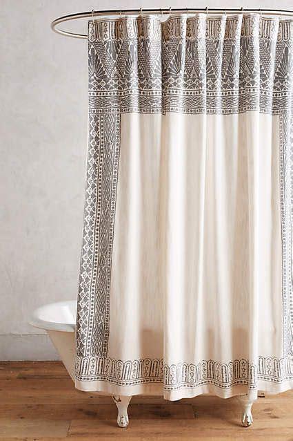 86 shower curtain misona shower curtain anthropologie com bath
