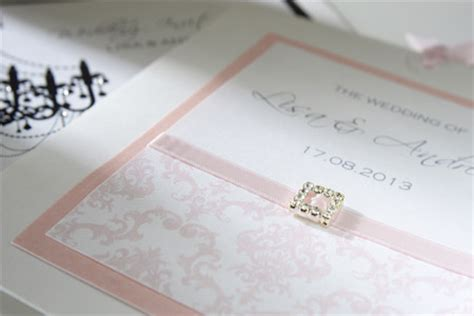 Handmade Invitations Uk - luxury wedding invitations groom direct