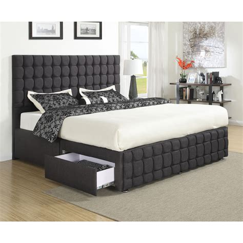 queen size platform bed with headboard bedroom stylish queen platform bed with drawers design