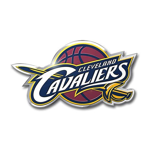 cavaliers colors cleveland cavaliers color emblem car or truck decal