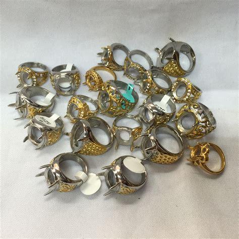 Cincin Batu Import jual cangkang emban ikat cincin batu kecil titanium import