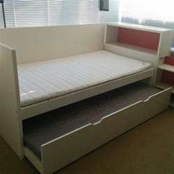 What Stores Sell Bed Frames Find More Ikea Flaxa Bedframe Headboard And Pull Out Bed Combination 2 Foam Mattresses