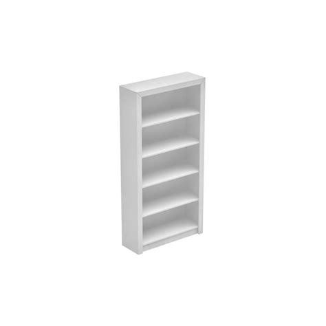 White Open Bookcase Manhattan Comfort Olinda White Open Bookcase 27amc6 The