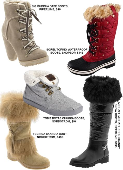 stylish snow ready winter boots fashion