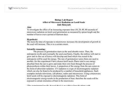 sle formal lab report chemistry sle lab report for biology 28 images formal lab report
