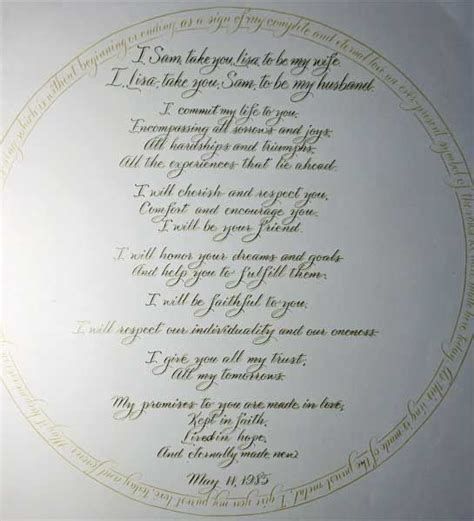 Christian Wedding Vows on Pinterest   Traditional Wedding