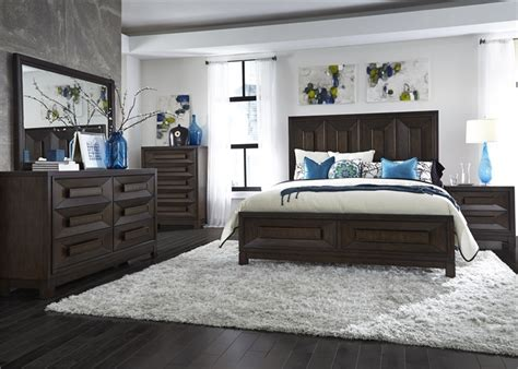midtown bedroom set midtown bedroom set panel bed 6 piece bedroom set in