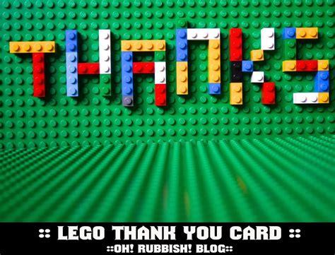 printable lego thank you cards lego thank you card free lego party printables