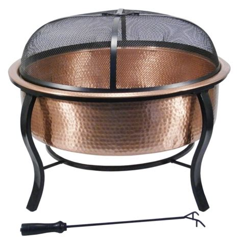 stunning match lit copper fire bowls hearth products