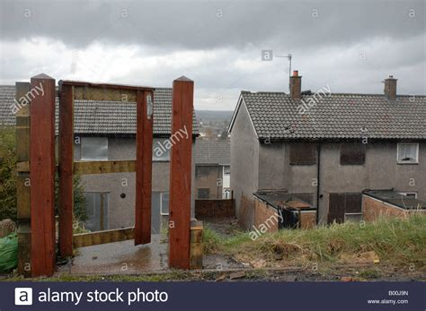 houses to buy in doncaster boarded up council houses in doncaster yorkshire stock photo royalty free image