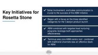 rosetta stone customer service framework to abm success with terminus