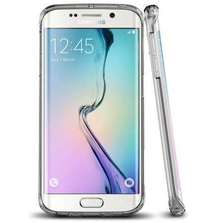 Spigen Ultra Hybrid Soft Cover Samsung Galaxy S6 Edge spigen ultra hybrid samsung galaxy s6 edge