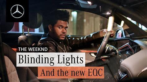 weeknd shares  song blinding lights listen hwing